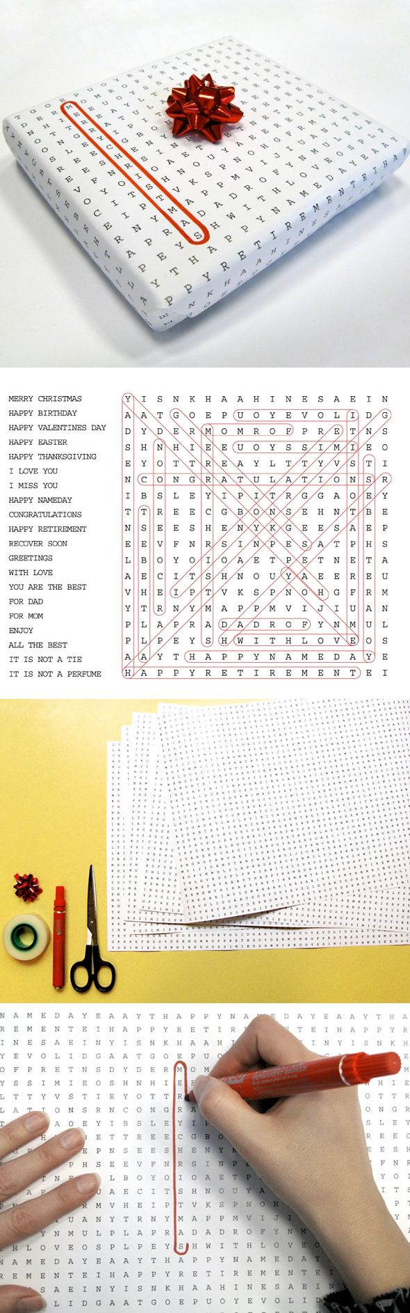 This would be perfect for boog since he loves word searches :)