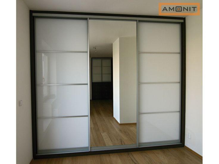 bílá vestavěná skříň se zrcadlem - Hledat Googlem