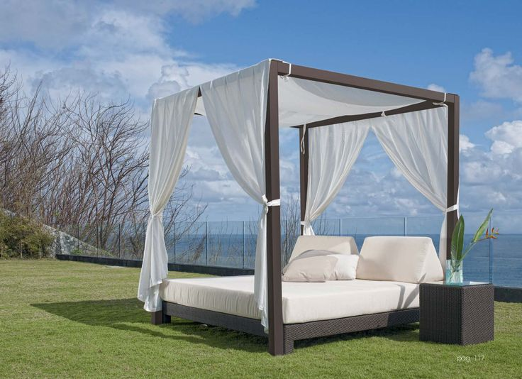 Modern Outdoor Daybed With Canopy For Unique Patio Furniture Design: Patio  Canopy Bed | Outdoor