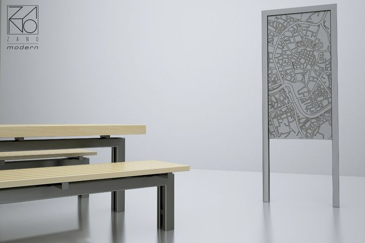 Nowadays urban planners are therefore looking into functional and stable solutions for street furniture. Presented models are excellent examples of modern design street furniture.