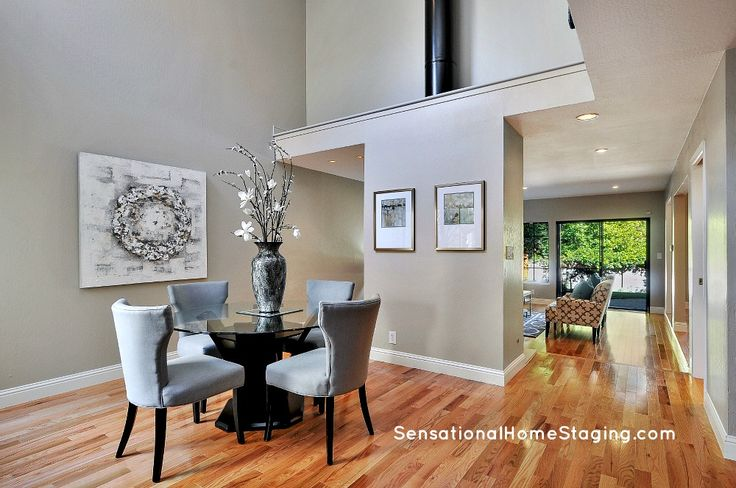 Contemporary Dining #homestaging #staging #diningrooms #realestate