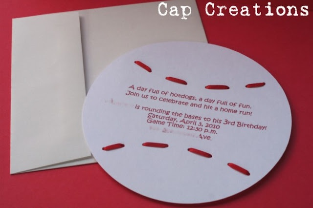baseball party free printables - invitations, banner,cupcake toppers