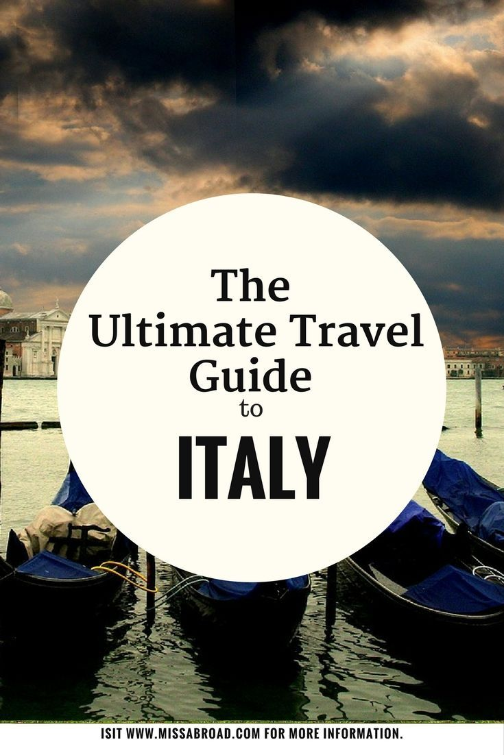 Ultimate Guide to Italy - All you need to know in one destination guide #travel