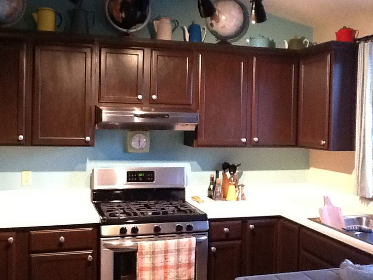 1000+ images about Golden oak cabinets on Pinterest | Stainless ...