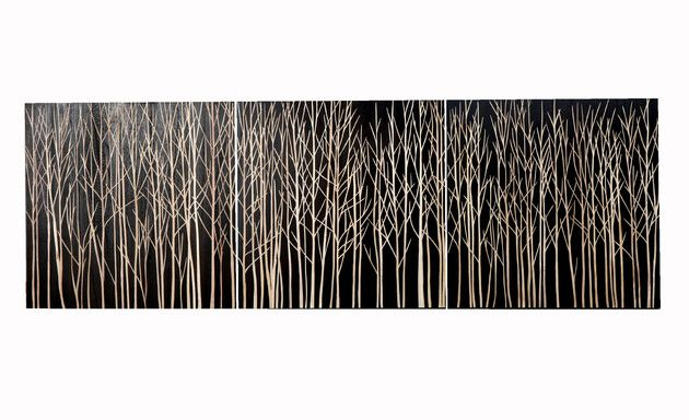 forest wall decorWall Artworks, Dforest Strips, Earth De, Display Art, Carvings Artworks, Artworks Triptych, Carvings Wall, Earth Homewares, Design