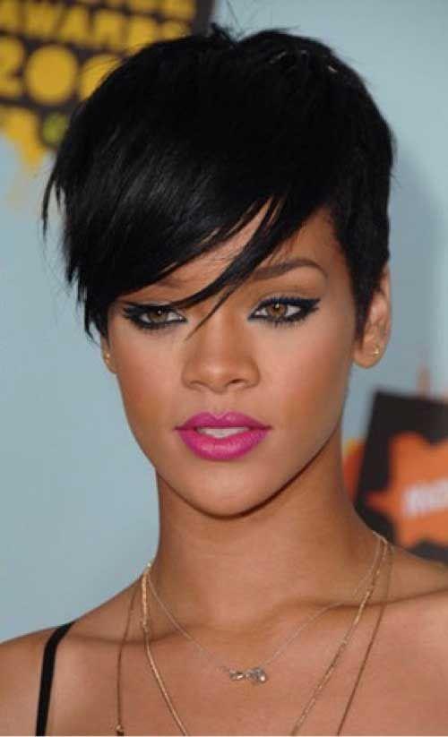 17 Best ideas about Rihanna Pixie Cut on Pinterest