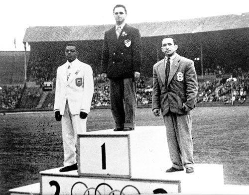 The first olympic medal for Iran, Jafar Salmasi