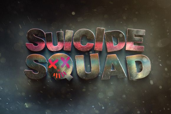 Suicide Squad Movie Text Effect  by Graphicshop on @creativemarket