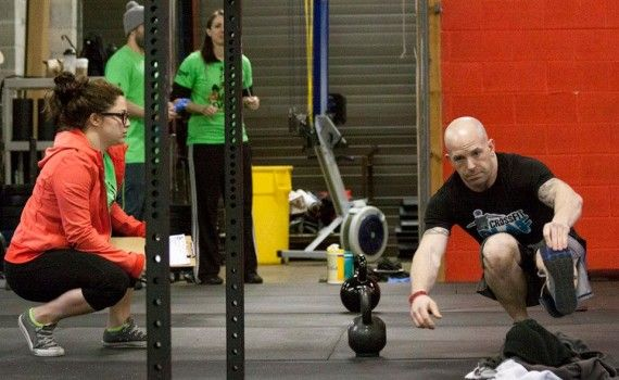 Getting ready for your first CrossFit competition!