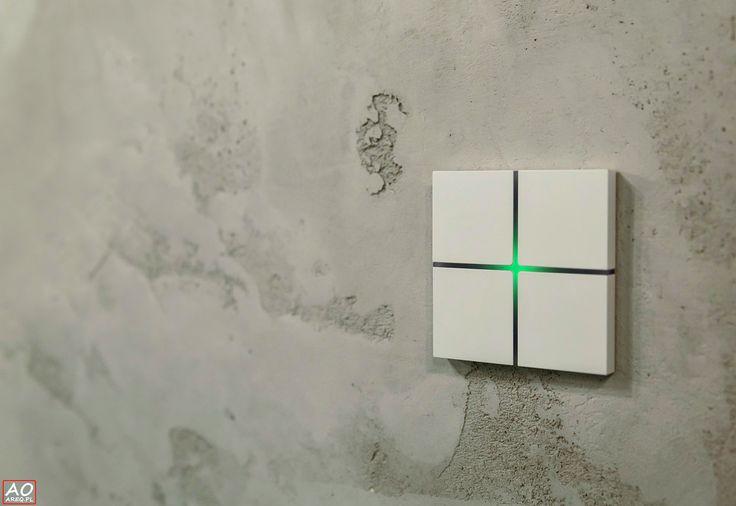 Przekonaj się jak prosto możesz sterować funkcjami inteligentnego domu za pomocą włącznika Sentido