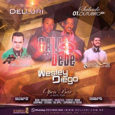 Mais uma super festa Open Bar na Delluri com Dj Rodolfo Coelho Coloque seu nome na lista pelo Site: http://www.baladassp.com.br/balada-sp-evento/Delluri/498 Whats: 951674133