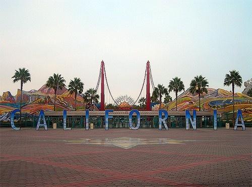 I Miss The California Sign At Disneyland California
