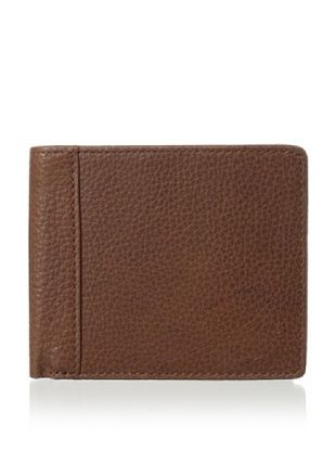 50% OFF Trafalgar Men's Pebble Slimfold Wallet (Brown)