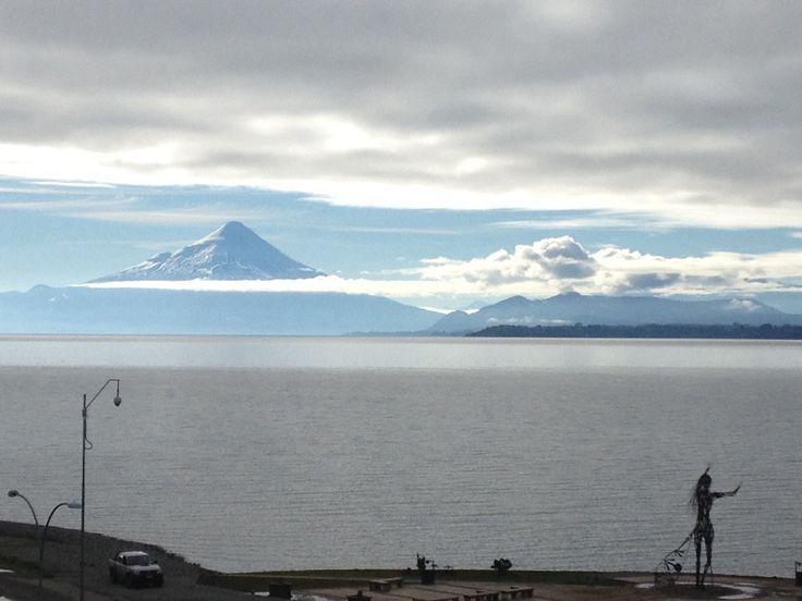 Volcán Osorno, Lago Llanquihue. Puerto Varas.