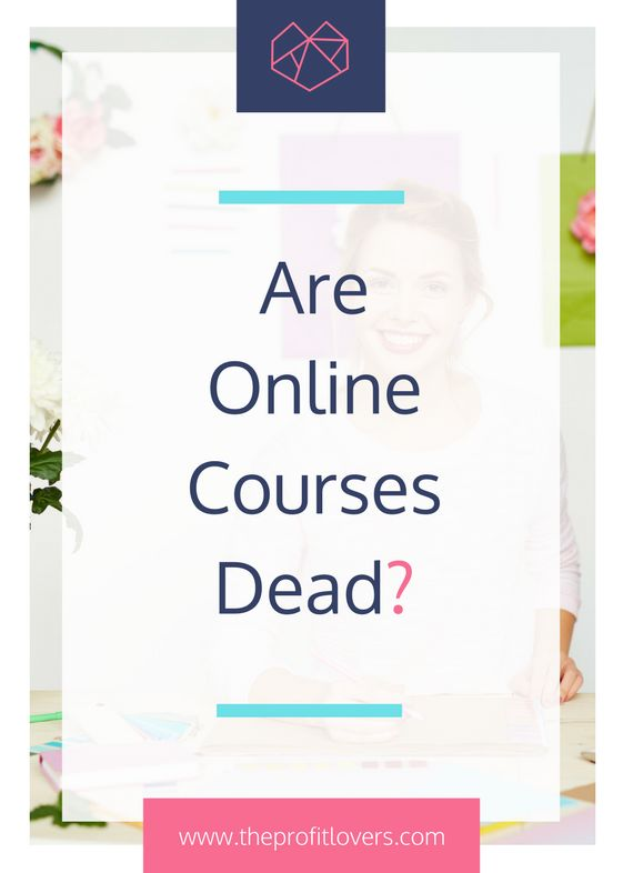 Worried that you have missed the online course boat? Does it feel like everyone has an e-course on offer? Read the blog to find out why courses are not dead!