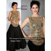 SIXMETER Black Designer Salwar Suit
