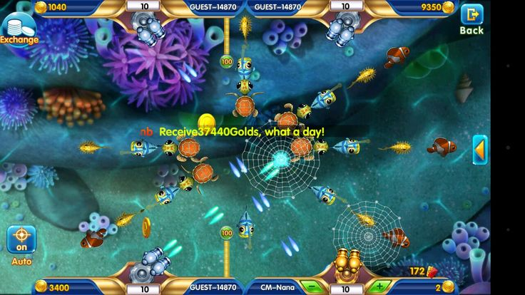 Crazy Fish arcade mobile game on GooglePlayStore