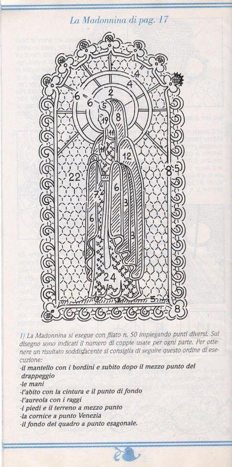 Scuola di pizzo di Cantù 98 (bolillos) - Blancaflor1 - Álbumes web de Picasa