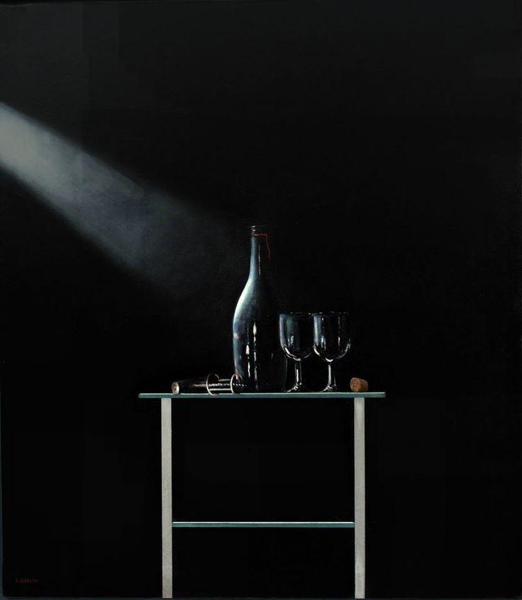 Autore : Luigi Beolchi  Titolo : Raggio di luce Tecnica : Olio su tela Misure : 80x70 cm