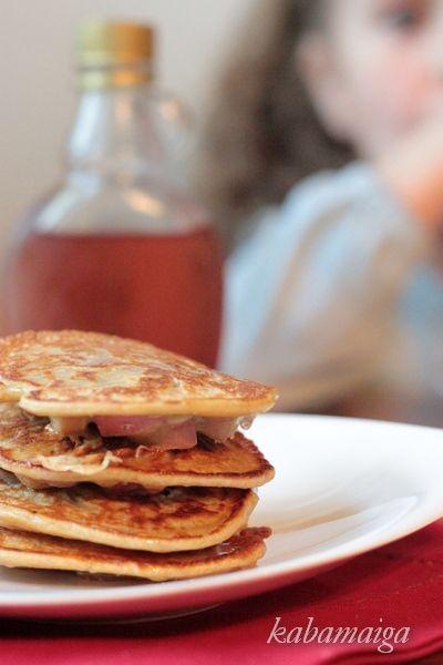Pancakes with rhubarb (polish) | Rhubarb | Pinterest | Pancakes ...