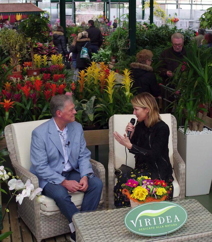 Ellen Hidding madrina della festa per il 20esimo compleanno di Cusago, ha intervistato il fondatore di Viridea Fabio Rappo