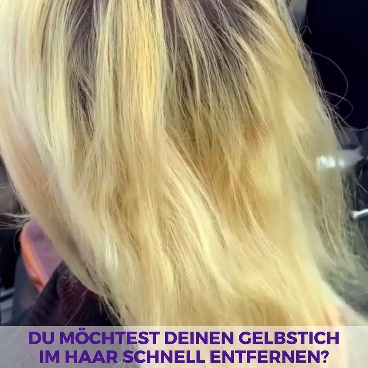 Gelbstich zu kühlem Blond in Minuten? [Video] | Haare