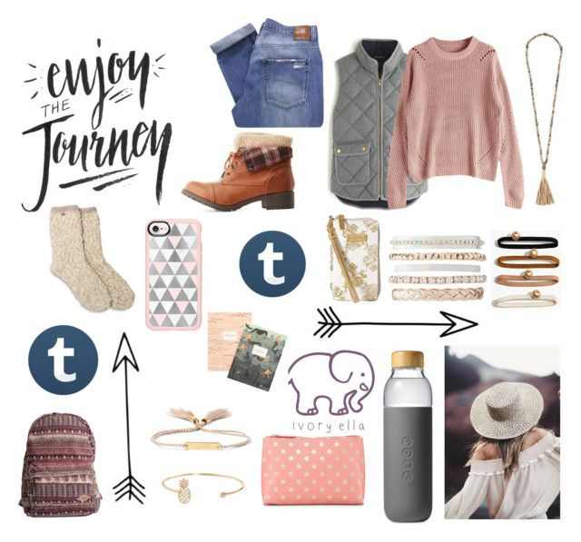 """""""J O U R N E Y"""" by tumblrstyles-2017 ❤ liked on Polyvore featuring J.Crew, Soda, Nobody Denim, Billabong, Hipchik, Madewell, Charlotte Russe, Soma, Shiraleah and Casetify"""