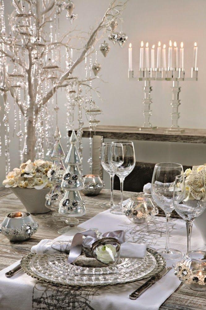 Biele Vianoce vo francúzskom štýle | Living Styles