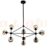 Replica Lighting Jason Miller Chandelier 10 Light Modo Roll & Hill
