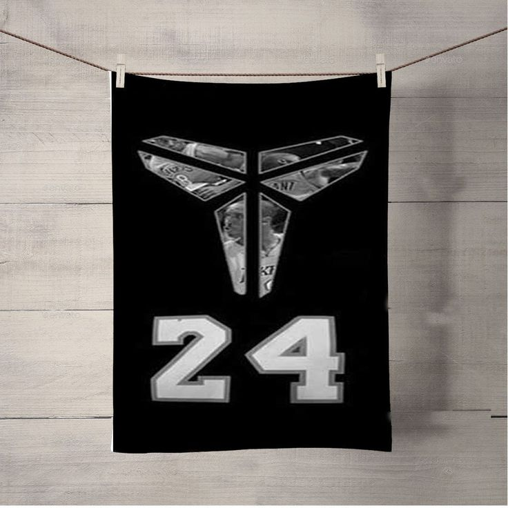 La Lakers Kobe Symbol Bath Towel Beach Towels
