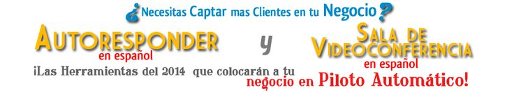 Gotocontacts.com  Autorresponder y Sala de Conferencias completamente en Español. Imprescindible para tu embudo de marketing