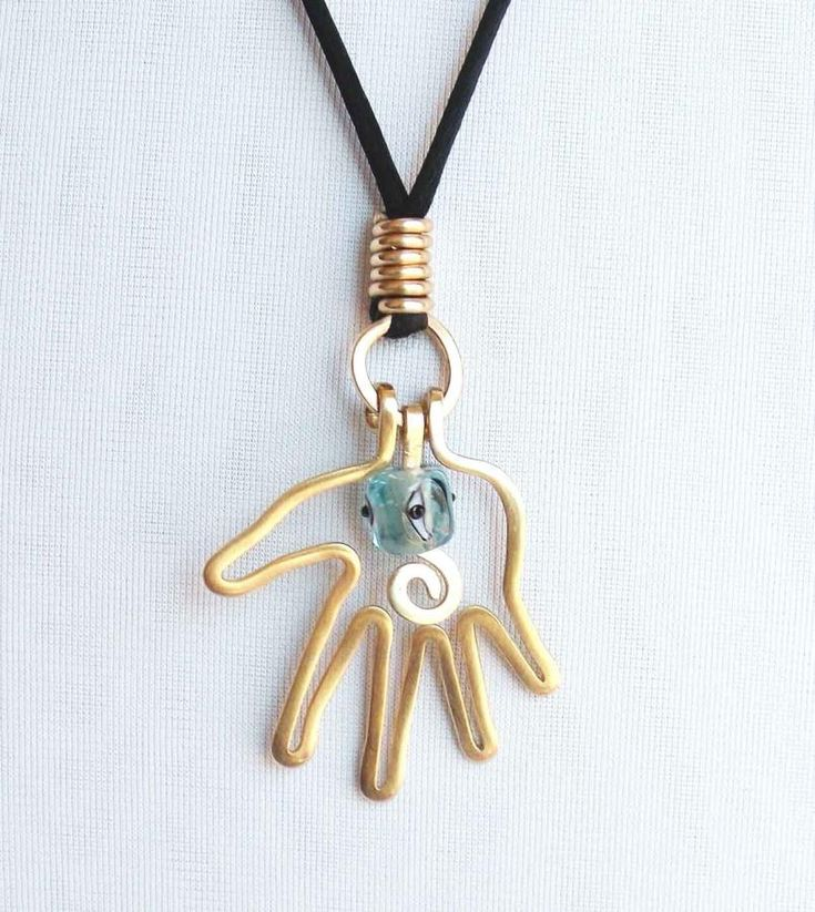 Hamsa Hand Necklace for Allison by Spaghetti Western
