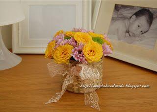 Aranjamente florale in cosulete / Floral Arrangements in baskets