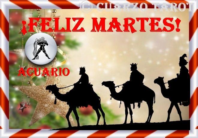 Acuario Martes 03 de Enero, 2017  ACUARIO #FelizMartes, un engaño o traición quedará al descubierto, yo de ti, tomaría una decisión drástica y es pasar pagina.