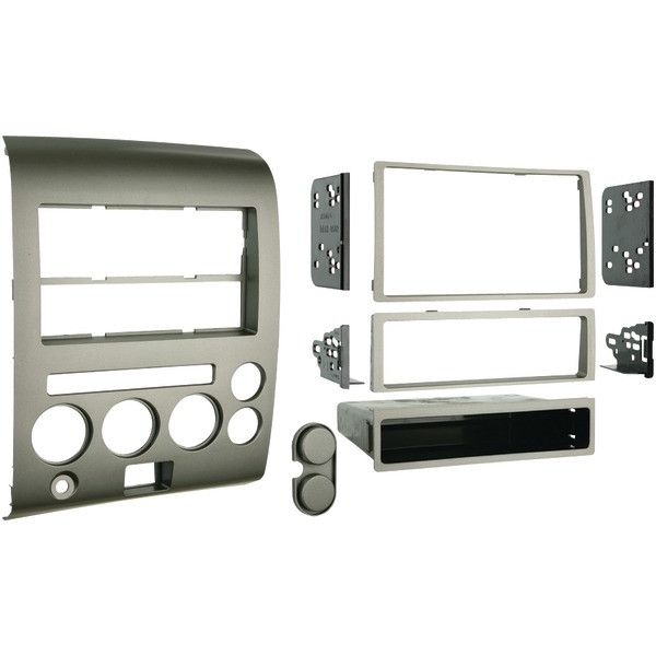 2006 - 2007 Nissan(R) Titan & Armada Single- or Double-DIN Installation Kit with Dual Zone Climate Display - METRA - 99-7606