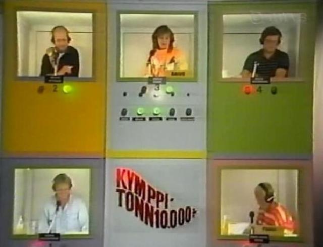 10 000, suosittu arvausleikki televisiossa.