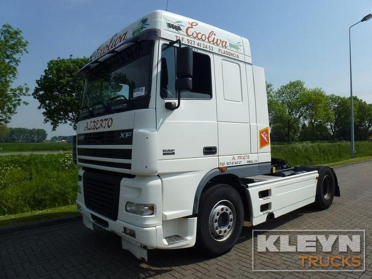 For sale: Used and second hand - Tractor unit DAF XF 95.480 #daftrucks #kleyntrucks