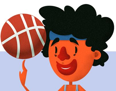 """Check out new work on my @Behance portfolio: """"Basketball dude"""" http://be.net/gallery/49520145/Basketball-dude"""