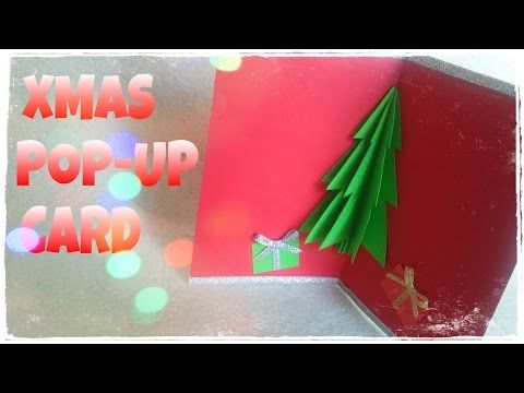 How To Make a Christmas Card - 3D Christmas Card - YouTube