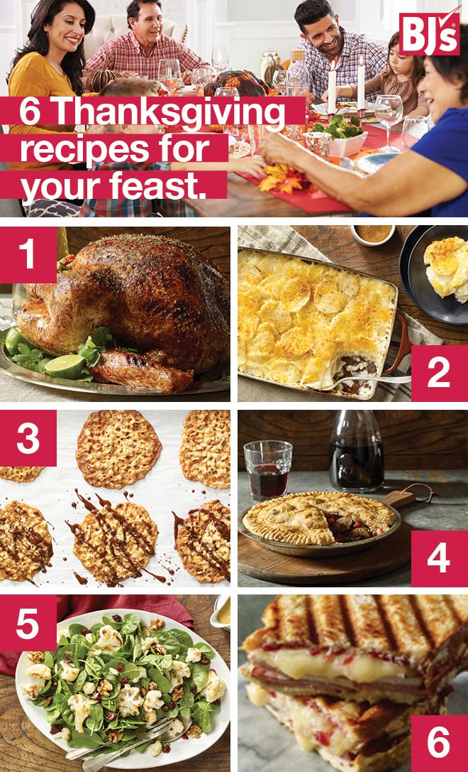 It's time to bring your best recipes to the table this Thanksgiving. Whether it be cookies, salad, potatoes, or the turkey, BJ's has an array of delicious options for you. Pick up your ingredients in-Club and prep for Turkey Day the right way. http://stocked.bjs.com/food/feast-be-thankful
