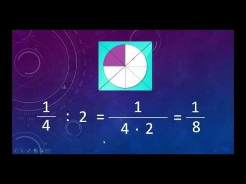 Murto- ja sekaluvun jakaminen - YouTube