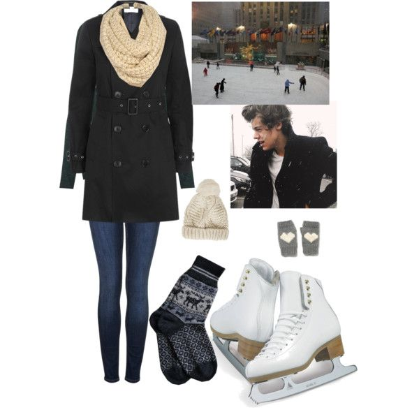 What to wear on an ice skating date
