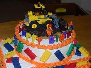 Lego Birthday Cakes - Novelty Birthday Cakes