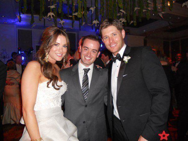 Jensen Ackles And Danneel Harris Wedding Candid