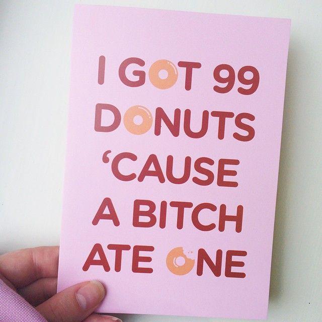 Donut Card http://instagram.com/p/vIwyNrTMAR/