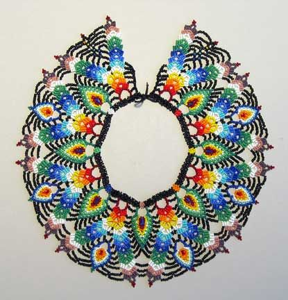 Saraguro Beadwork.  Have already made the Arana pattern and am ready to try something more difficult.