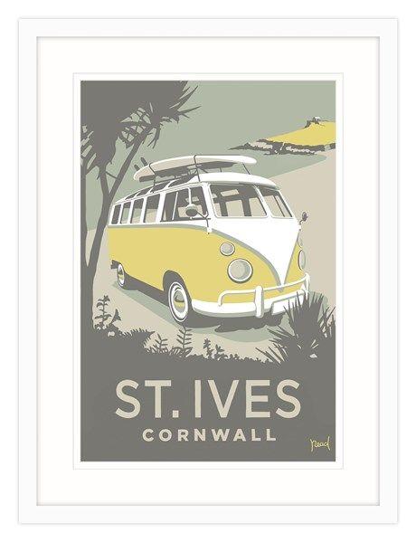 St Ives Camper Framed