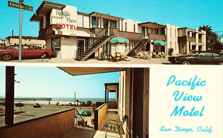 Pacific View Motel - San Diego,California