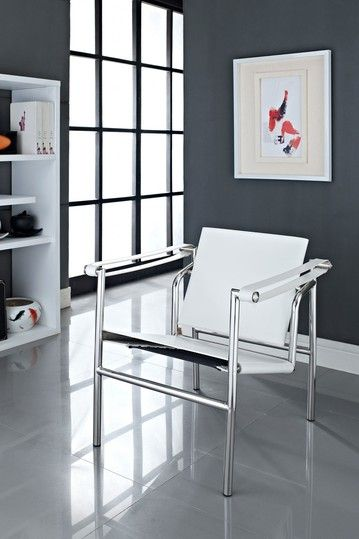 Le Corbusier Genuine Leather LC1 Chair
