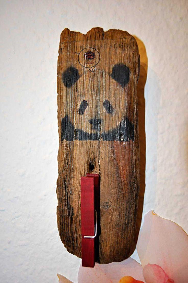 Treibholz Holztransfer Druck auf Holz